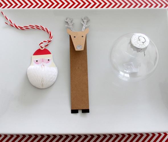 DIY Hot Chocolate Ornaments Supplies