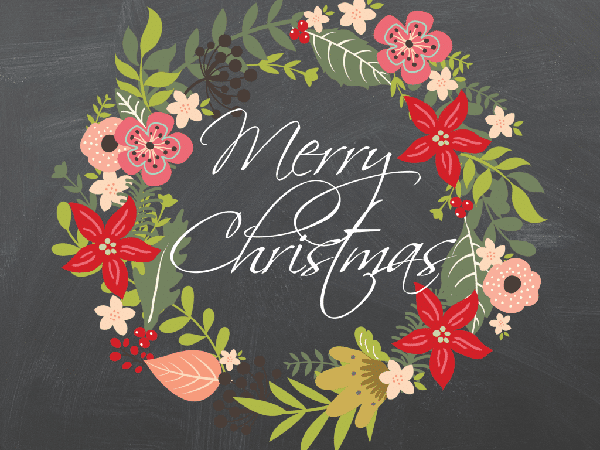 Free Merry Christmas Printable Wall Art