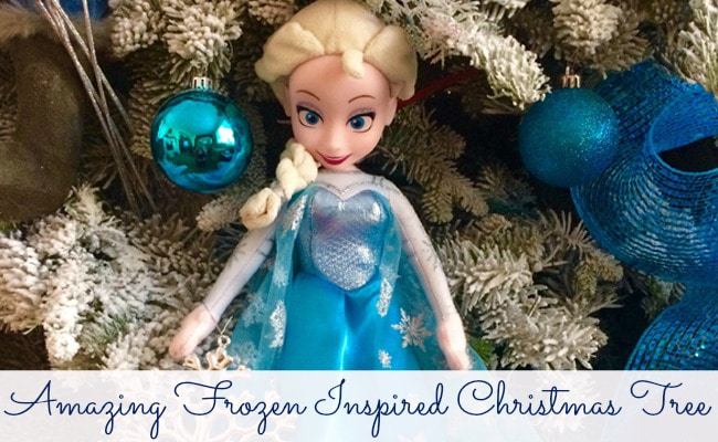 Frozen Inspired Christmas Tree