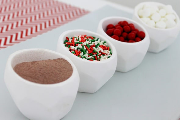 Hot Chocolate Ornaments Ingredients