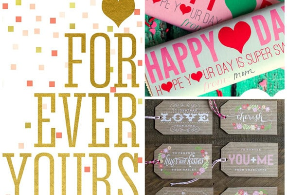 25 Valentine's Day Printables For Free
