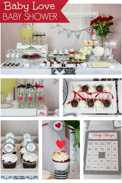 Baby Love Themed Baby Shower