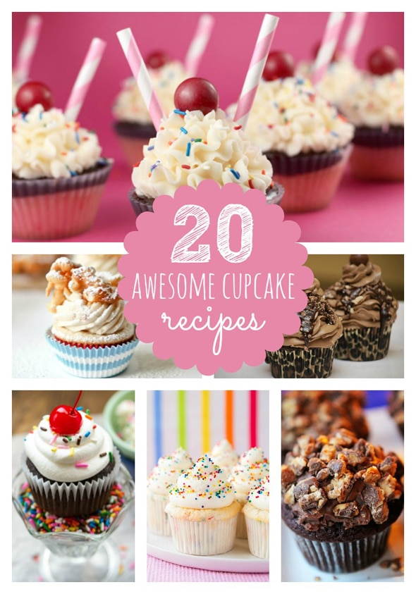 20 Awesome Cupcake Recipes Pretty My Party Party Ideas
