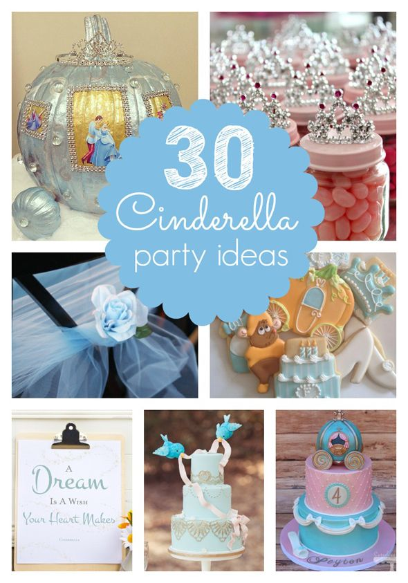 30 Cinderella Party Ideas Pretty My Party