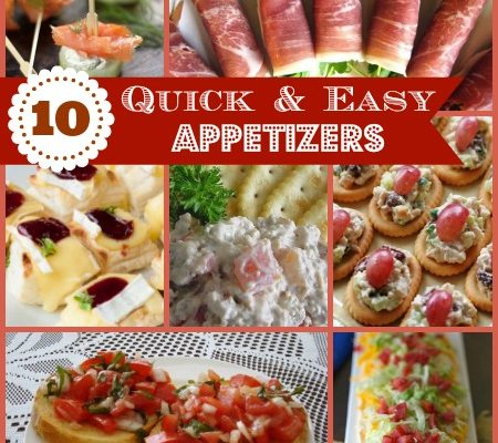 10 Best Party Appetizers Made in Minutes