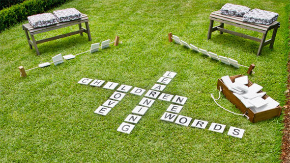Outdoor-Scrabble