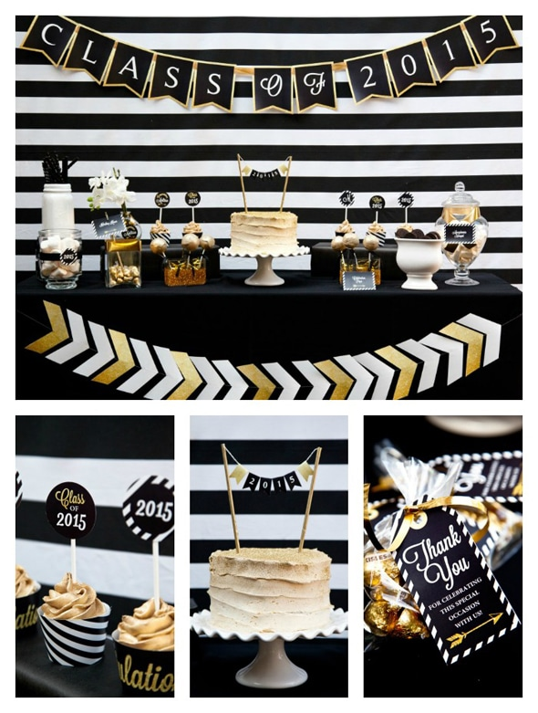 black-gold-graduation-party