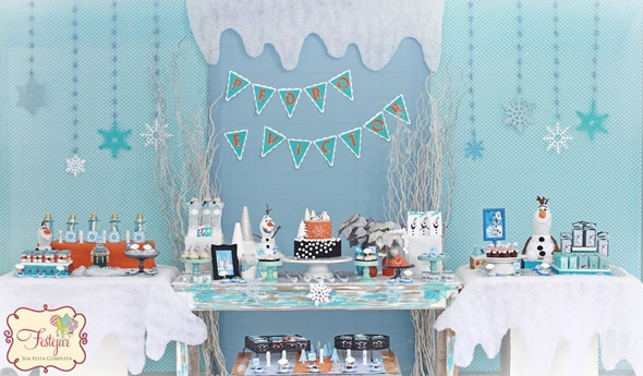 Frozen Olaf Birthday Party Pretty My