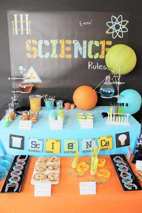 Teen or Tween Mad Scientist Party Theme