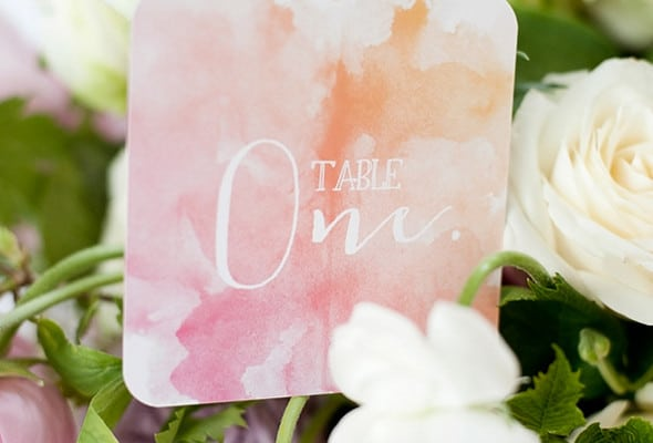 Watercolor Baby Shower Ideas