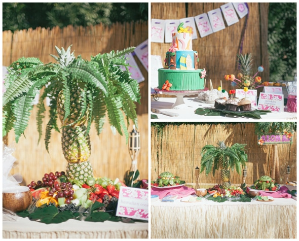 Teen or Tween Luau Party