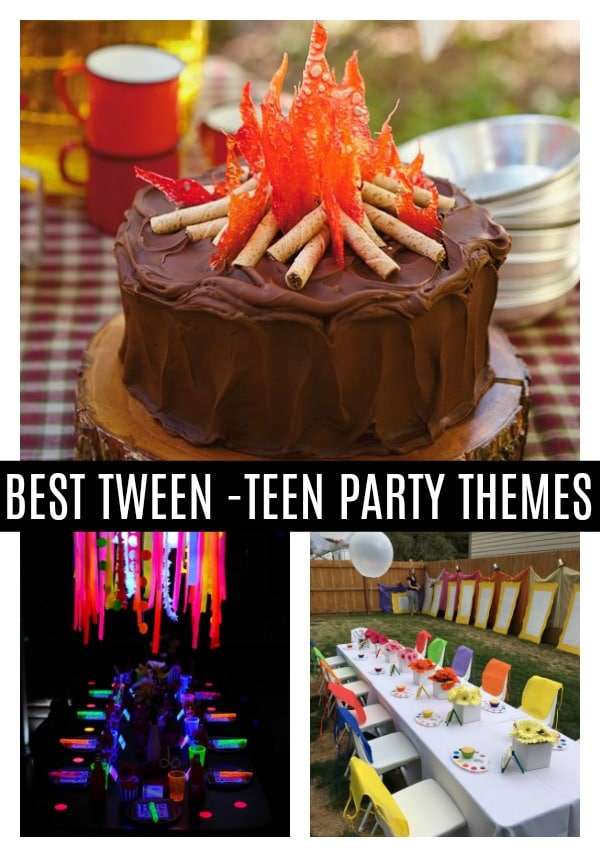 Teen Birthday Party Ideas - Pretty My Party