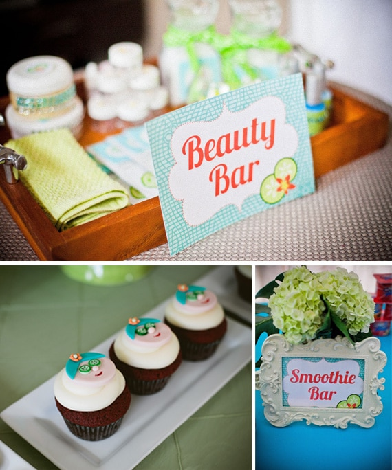 Teen or Tween Spa Party Theme