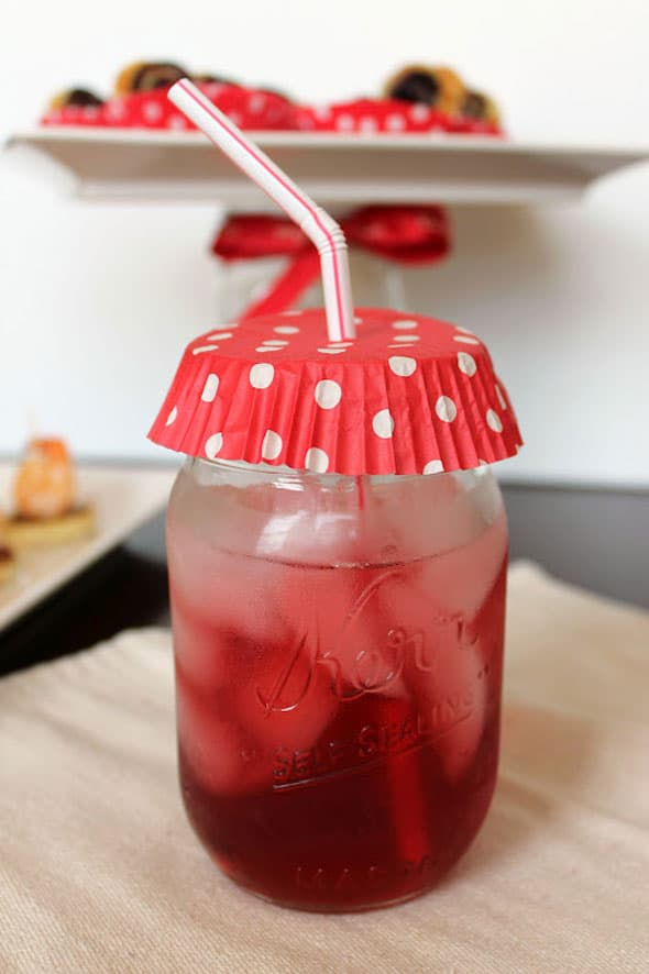 Cupcake Liner Drink Covers - Summer Entertaining Hacks