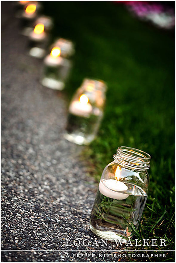 Floating Candles - Summer Entertaining Ideas