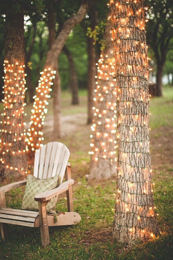Fun Outdoor BBQ Lighting