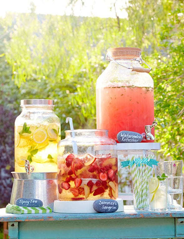 Premade Drinks - Summer Entertaining Hacks