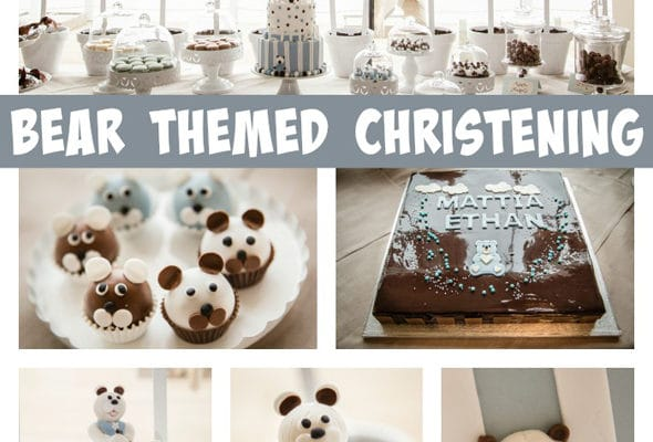 Bear Themed Christening