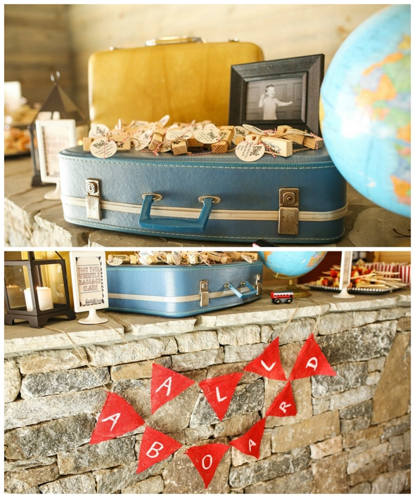 Vintage Train Birthday Party Pretty My Party Party Ideas
