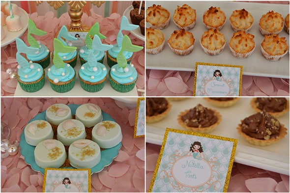 Mermaid-Party-Dessert-Options