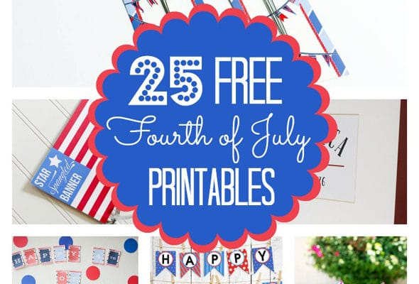 25 Free Fourth of July Printables