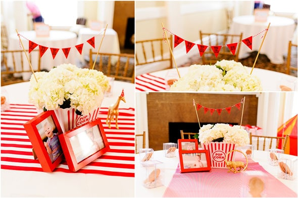 Circus Party Centerpieces