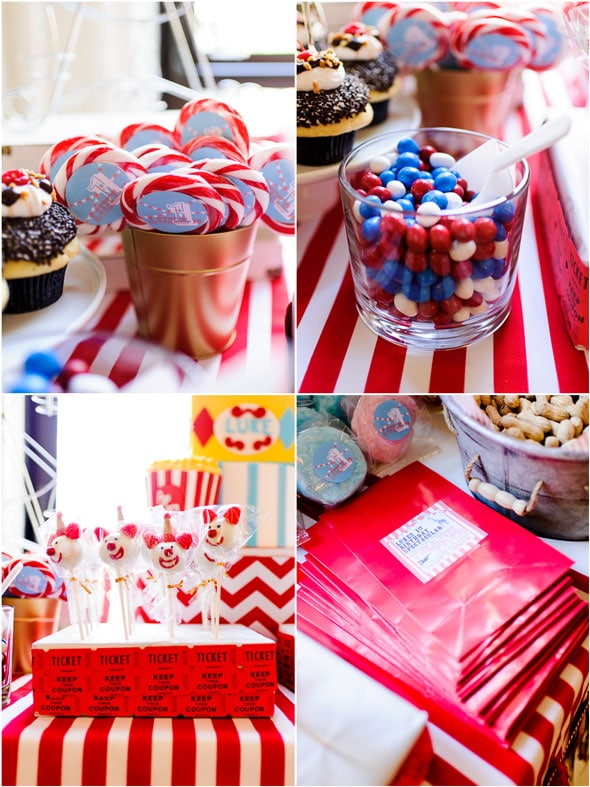 Circus Party Desserts