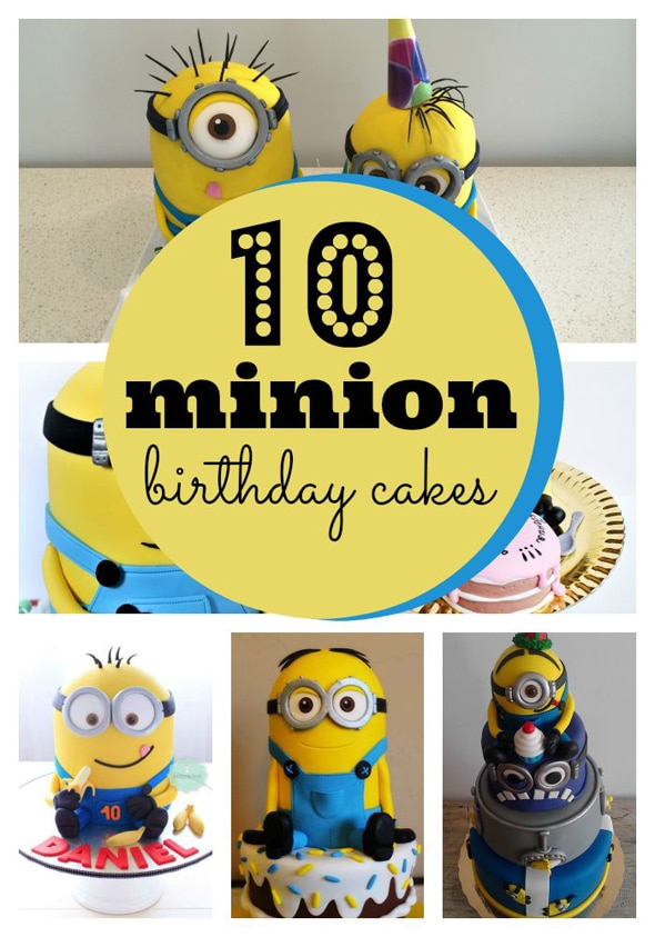 10 Amazing Minion Birthday Cakes Pretty My Party