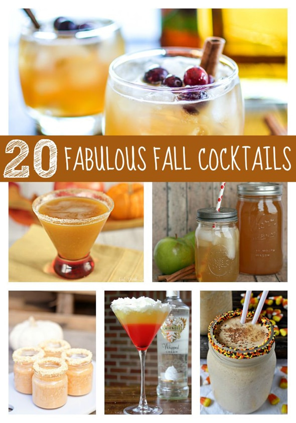 20 fabulous fall cocktails pretty my party for Fall cocktail ideas