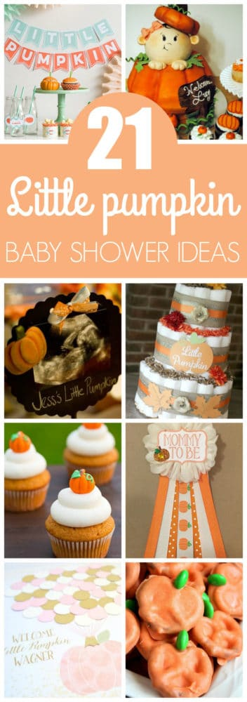 Great 21 Little Pumpkin Baby Shower Ideas Featured On Pretty My Party