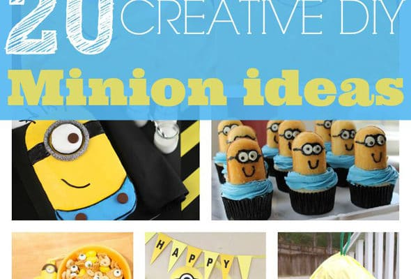 20 Minion Crafts Your Kids Will Love