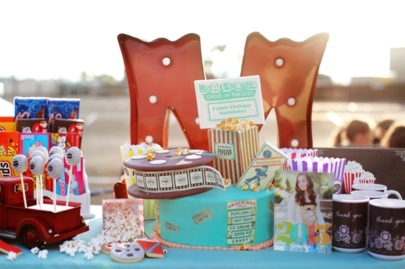 drive-in-movie-party-dessert-table