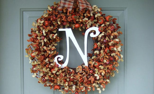 15 Best Handmade Fall Wreaths