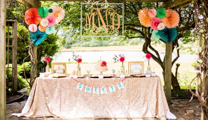 Glitter and Gold First Birthday