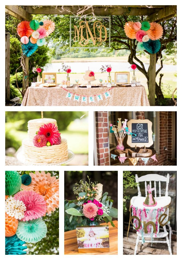 gold-glitter-first-birthday-party-ideas