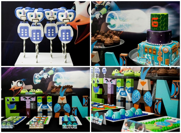 Miles From Tomorrowland Birthday Party Pretty My Party Party Ideas