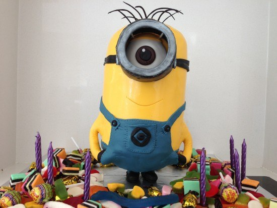 Birthday Cake Images Minions ~ Amazing minion birthday cakes pretty my party