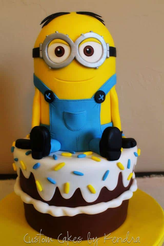 Minion Birthday Cake Idea