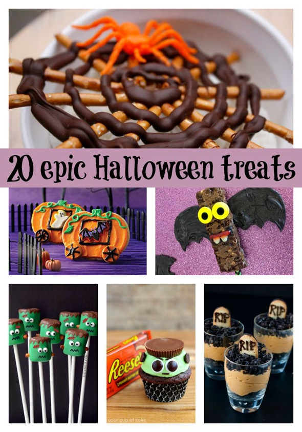 20 Epic Halloween Themed Desserts via Pretty My Party