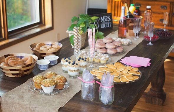 5 Ideas For A Champagne Brunch Bridal Shower