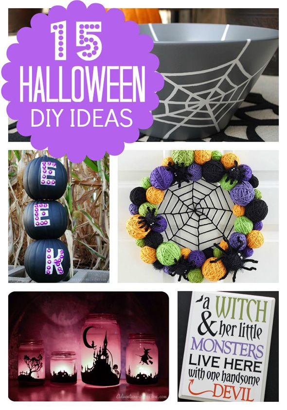 15 Great Halloween DIY Decor Ideas via Pretty My Party