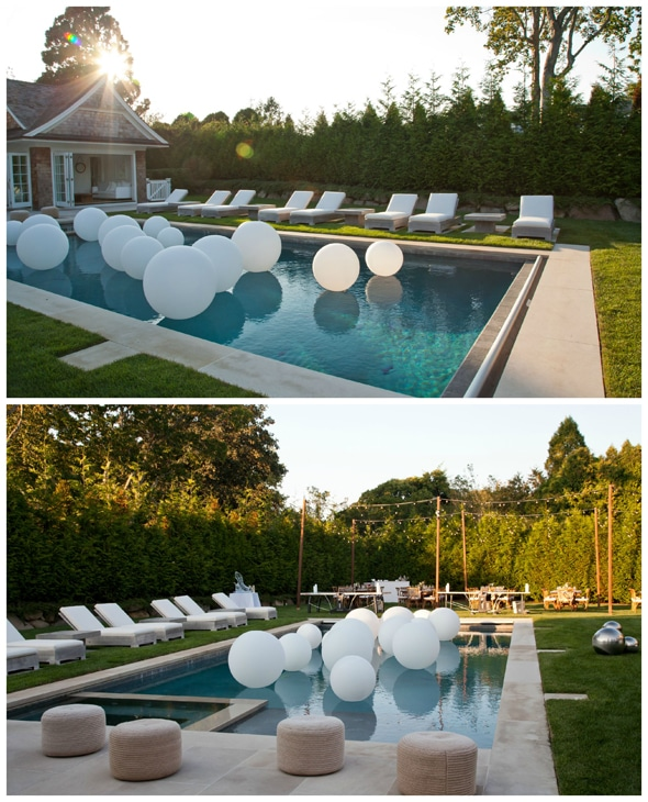 Lavish outdoor birthday party pretty my party for Garden pool party