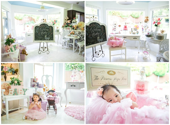 Vintage Baby Girl Shower Pretty My Party Party Ideas