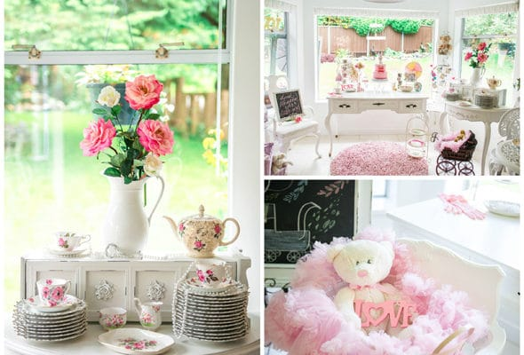 Vintage Baby Showers ~ Pink vintage baby shower tag archives pretty my party