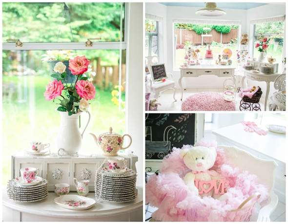 Vintage Baby Girl Shower Pretty My Party Party Ideas Recipes