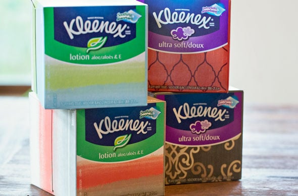 Fun Care Package with Kleenex Facial Tissues