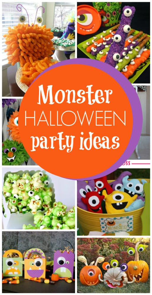Halloween Themed Birthday Party Food Ideas.30 Monster Halloween Party Ideas Pretty My Party Party Ideas