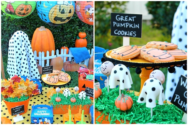 charlie-brown-halloween-party-ideas