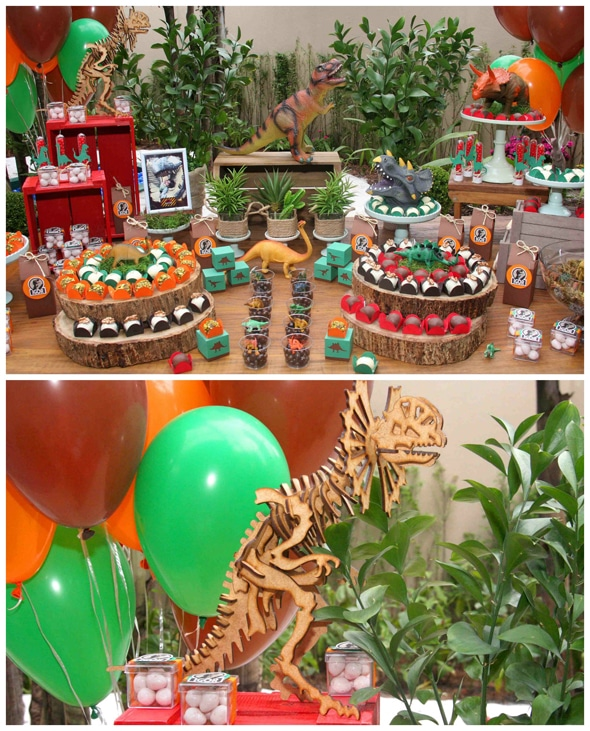 Jurassic Park Themed Party Pretty My Party Party Ideas