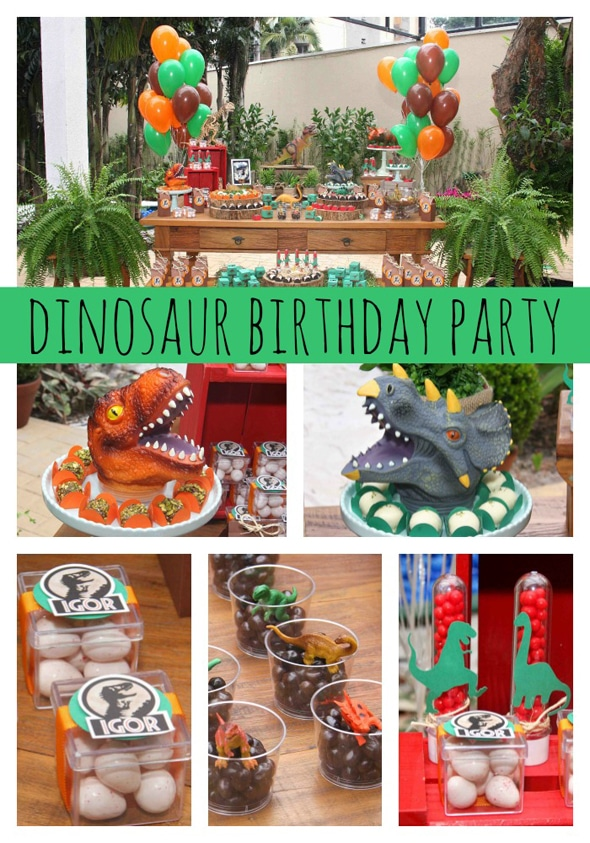 Jurassic Park Themed Party Ideas on Pretty My Party